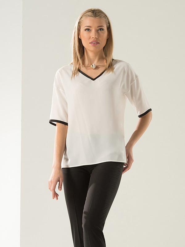 Блуза біла | 4100570