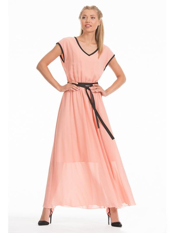 Платье персикового цвета | 4177901