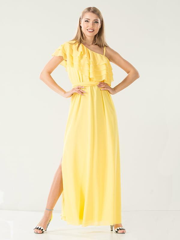 Платье желтое | 4302434