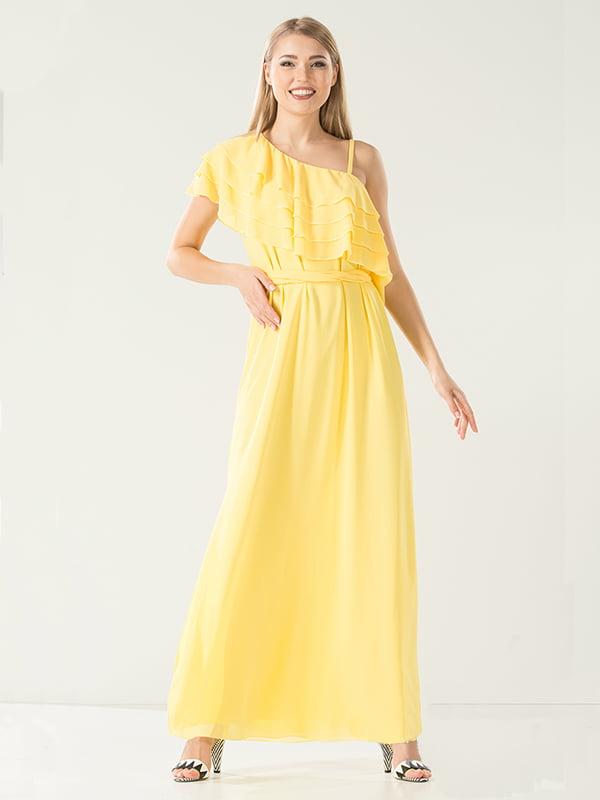 Платье желтое | 4302435