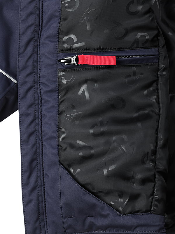 Куртка темно-синяя | 1403443 | фото 5