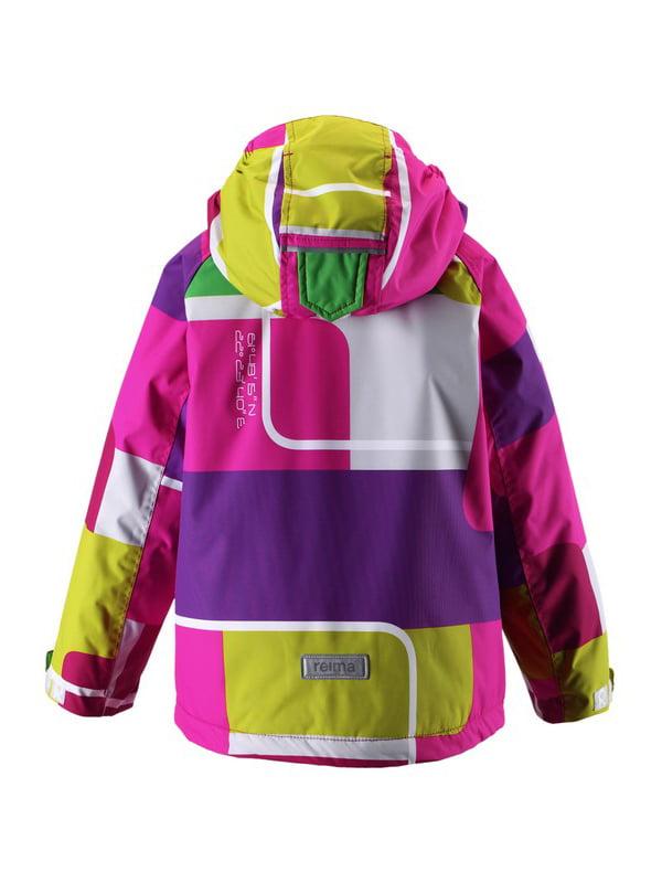 Куртка різнобарвна | 1422432 | фото 4