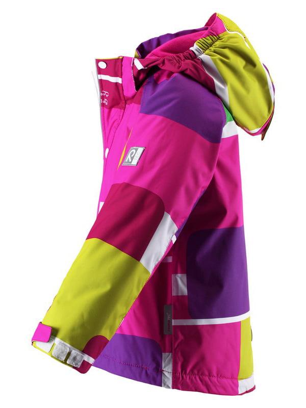 Куртка різнобарвна | 1422432 | фото 5