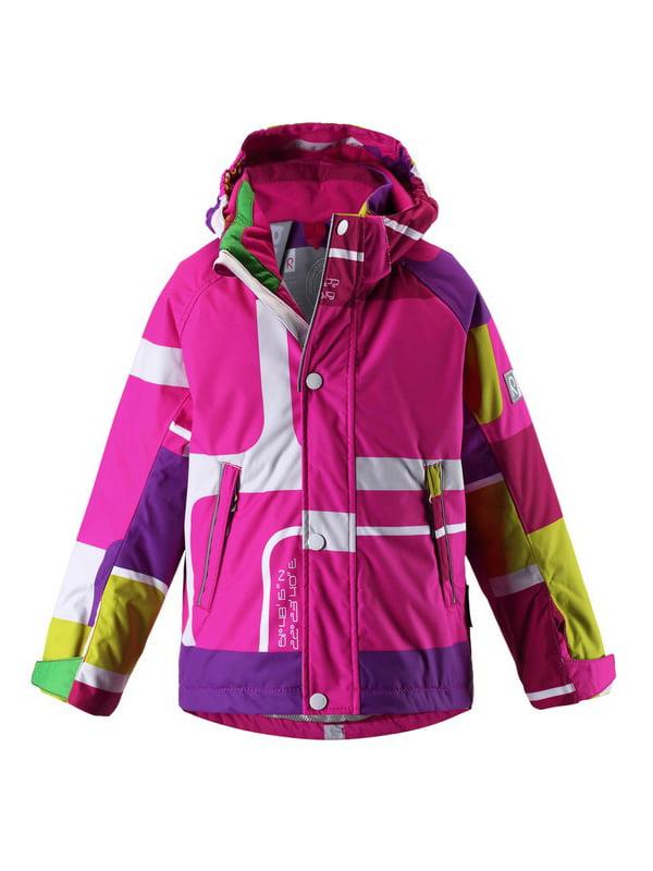 Куртка різнобарвна | 1422432 | фото 6