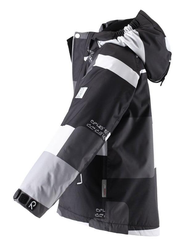 Куртка серо-черная | 1422435 | фото 5