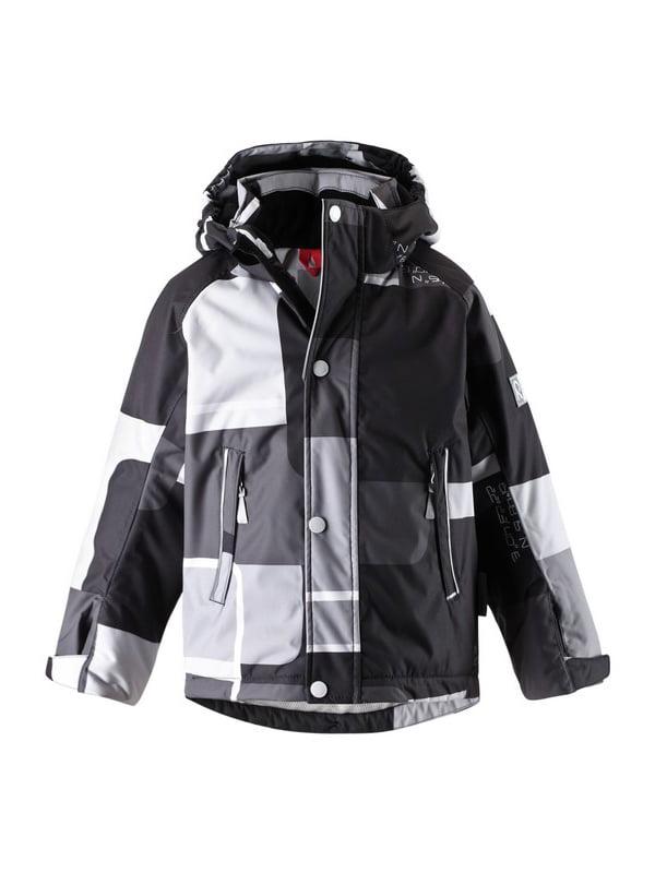 Куртка серо-черная | 1422435 | фото 6