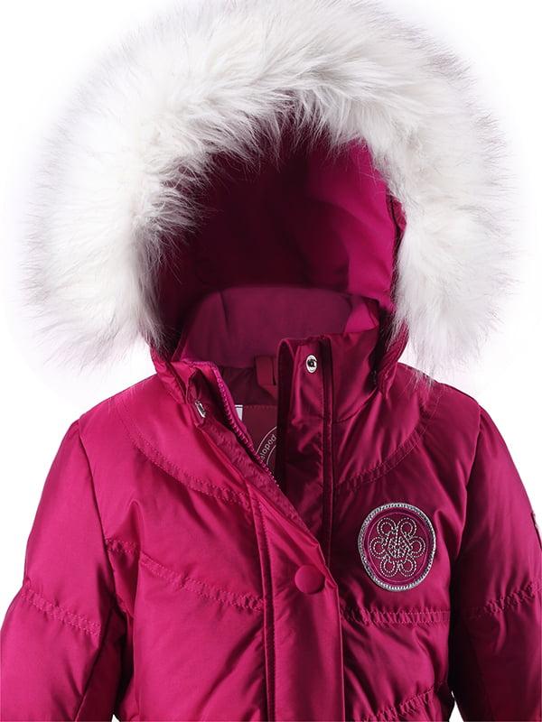 Куртка вишневого кольору   1422441   фото 3