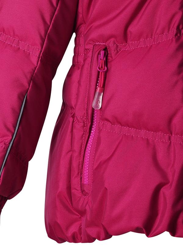 Куртка вишневого кольору   1422441   фото 4