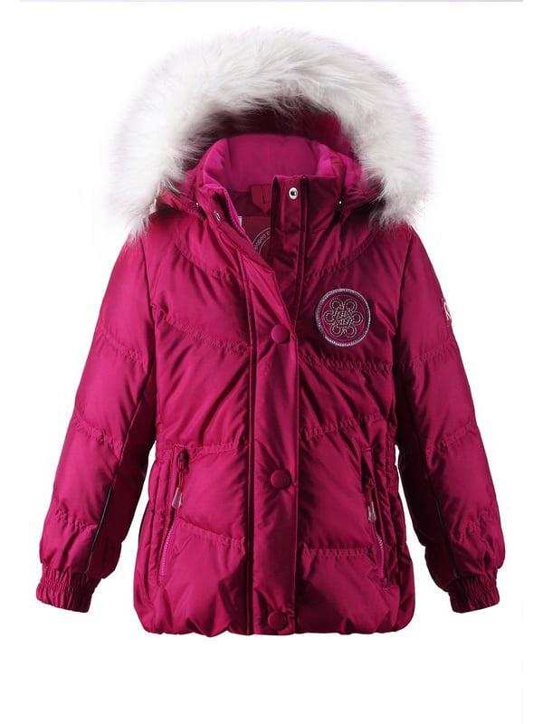Куртка вишневого кольору   1422441   фото 5