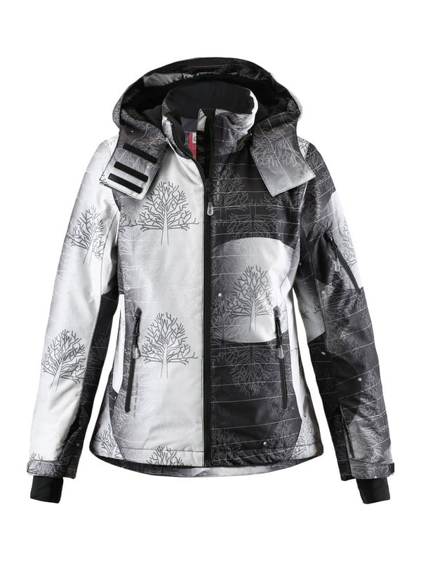 Куртка чорно-біла в принт | 1852338 | фото 6