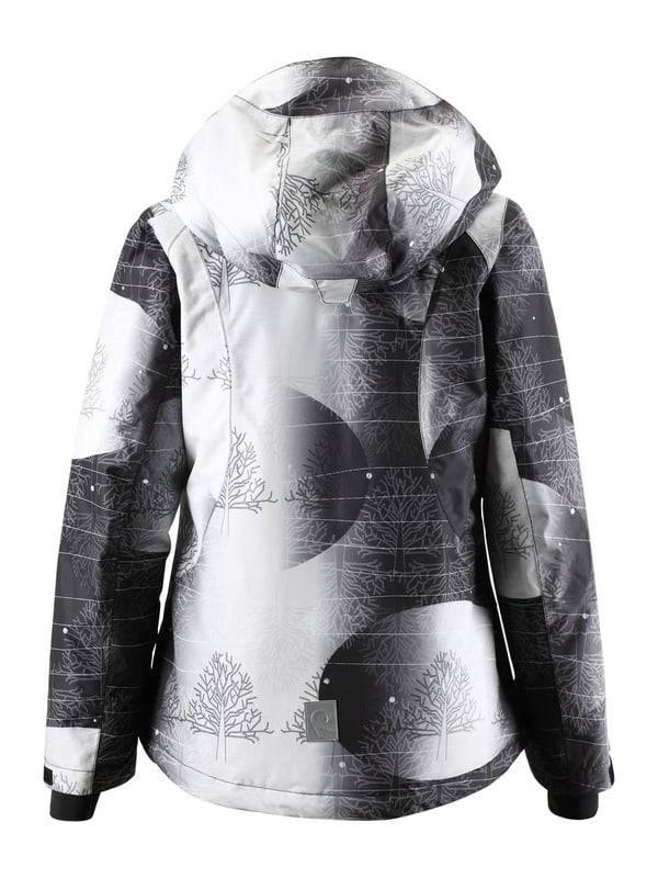Куртка чорно-біла в принт | 1852338 | фото 2