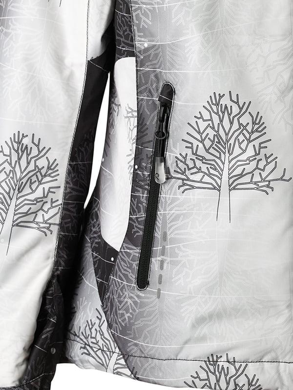 Куртка чорно-біла в принт | 1852338 | фото 5