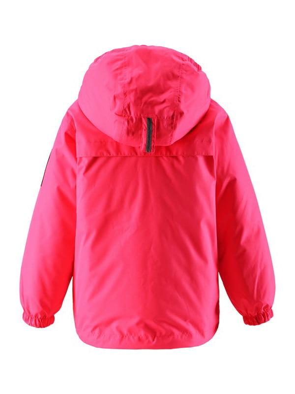 Куртка малинового кольору | 4856320
