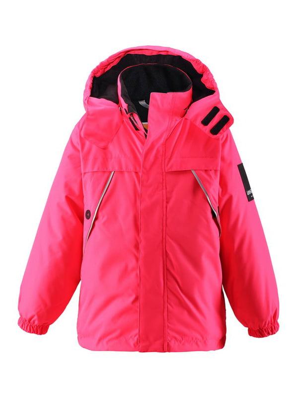 Куртка малинового кольору | 4856320 | фото 3