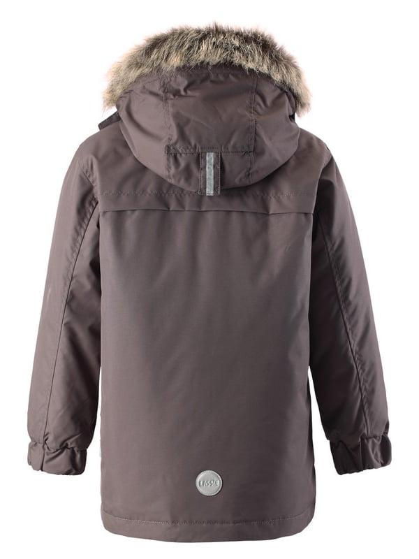 Куртка темно-сіра | 4856324