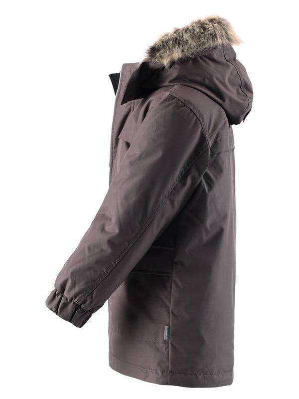 Куртка темно-сіра | 4856324 | фото 2