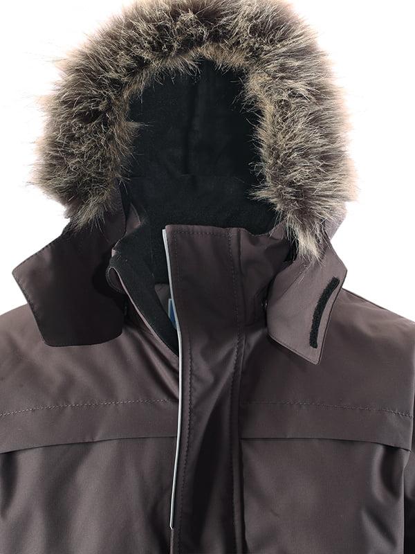 Куртка темно-сіра | 4856324 | фото 3