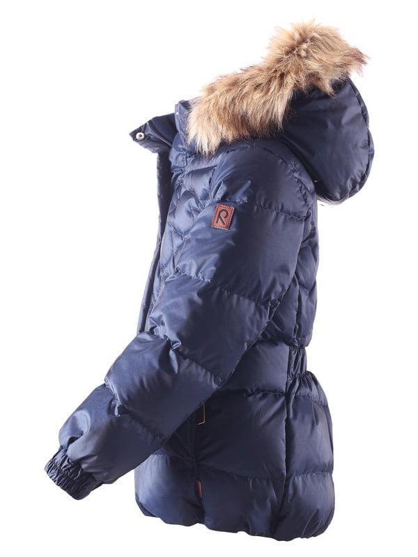 Куртка-пуховик темно-синя | 4856329 | фото 2