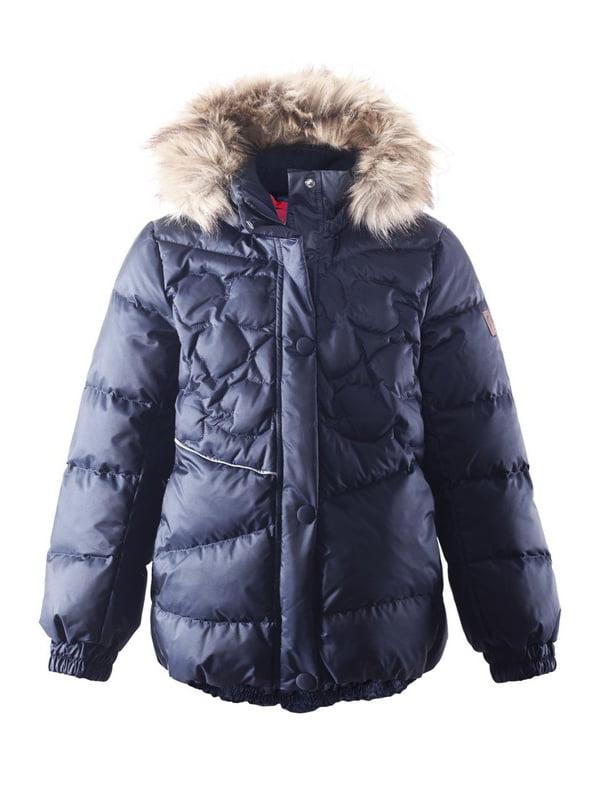 Куртка-пуховик темно-синя | 4856329 | фото 5