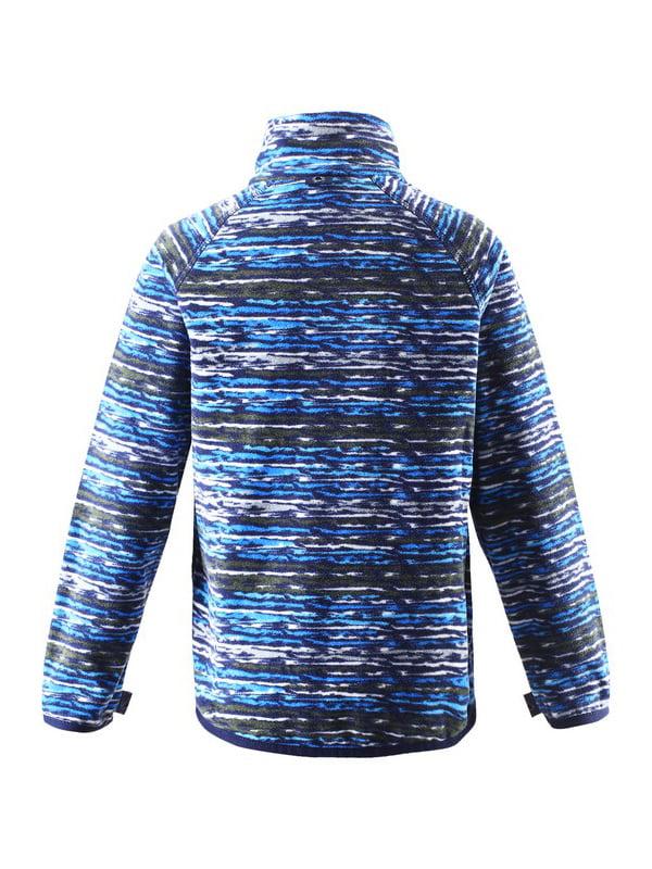 Кофта синя в принт   4856409