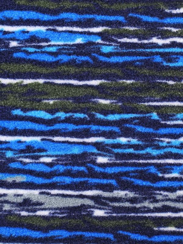 Кофта синя в принт   4856409   фото 3