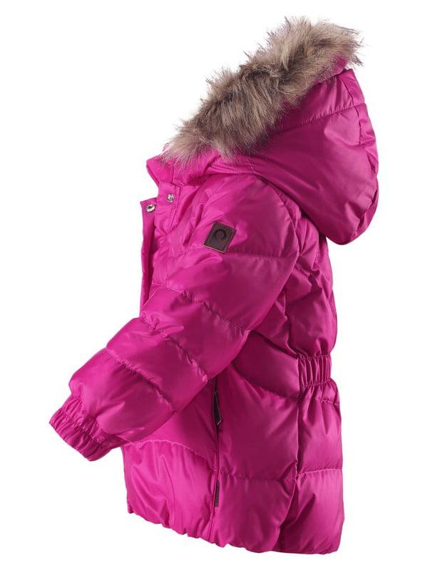 Куртка-пуховик рожева | 4856626 | фото 2
