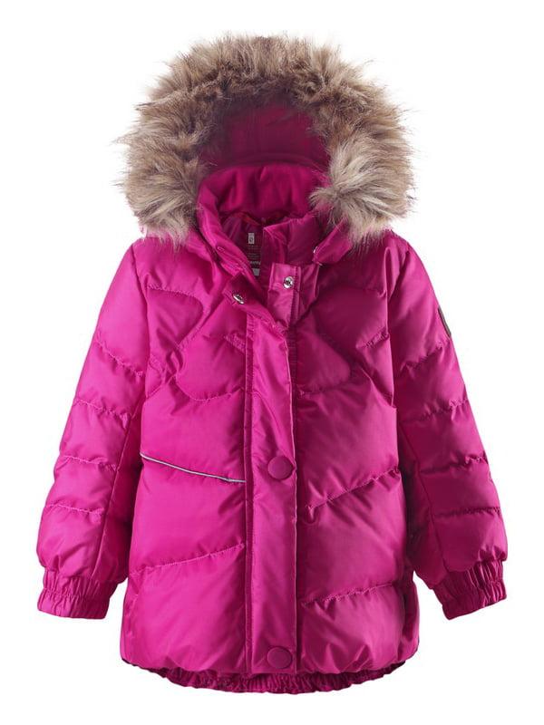 Куртка-пуховик рожева | 4856626 | фото 5