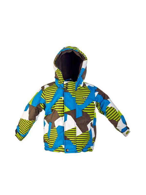 Комплект: куртка, напівкомбінезон, шапка, шарф і рукавиці | 4856630 | фото 2