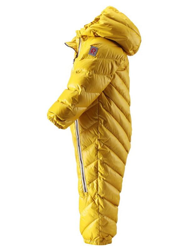 Комбінезон-пуховик жовтий | 4856662 | фото 2