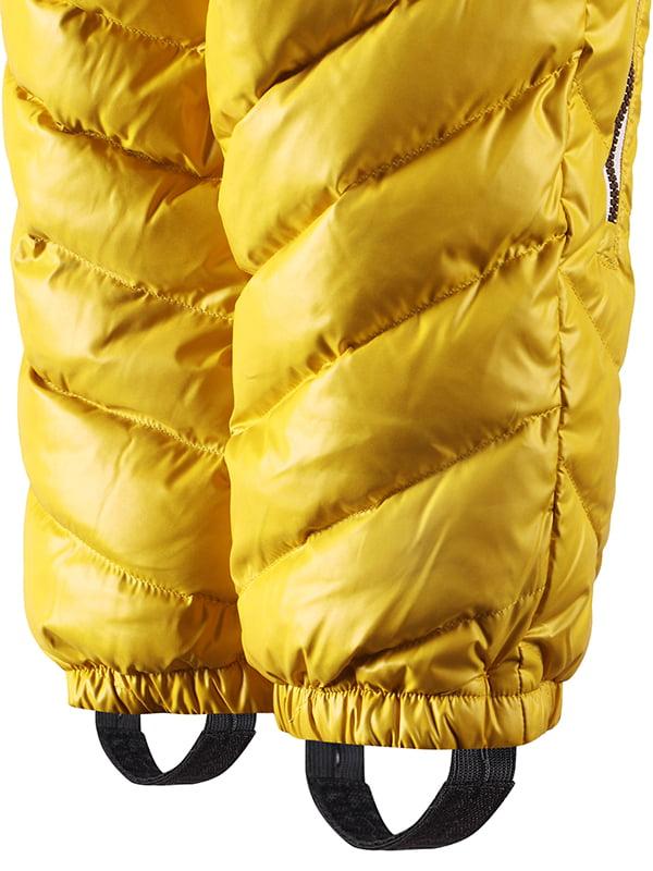 Комбінезон-пуховик жовтий | 4856662 | фото 3