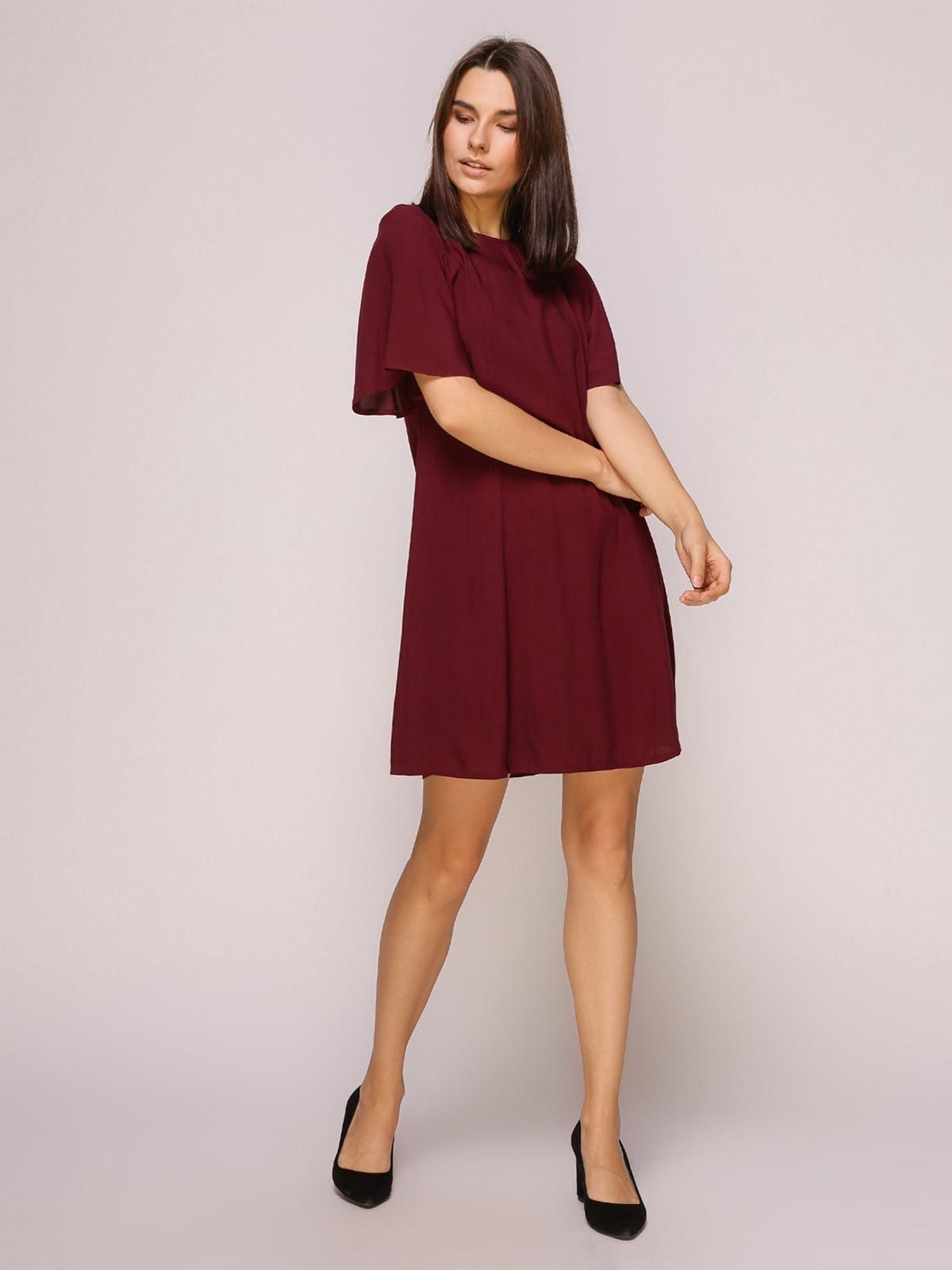Платье бордовое | 4915529 | фото 2