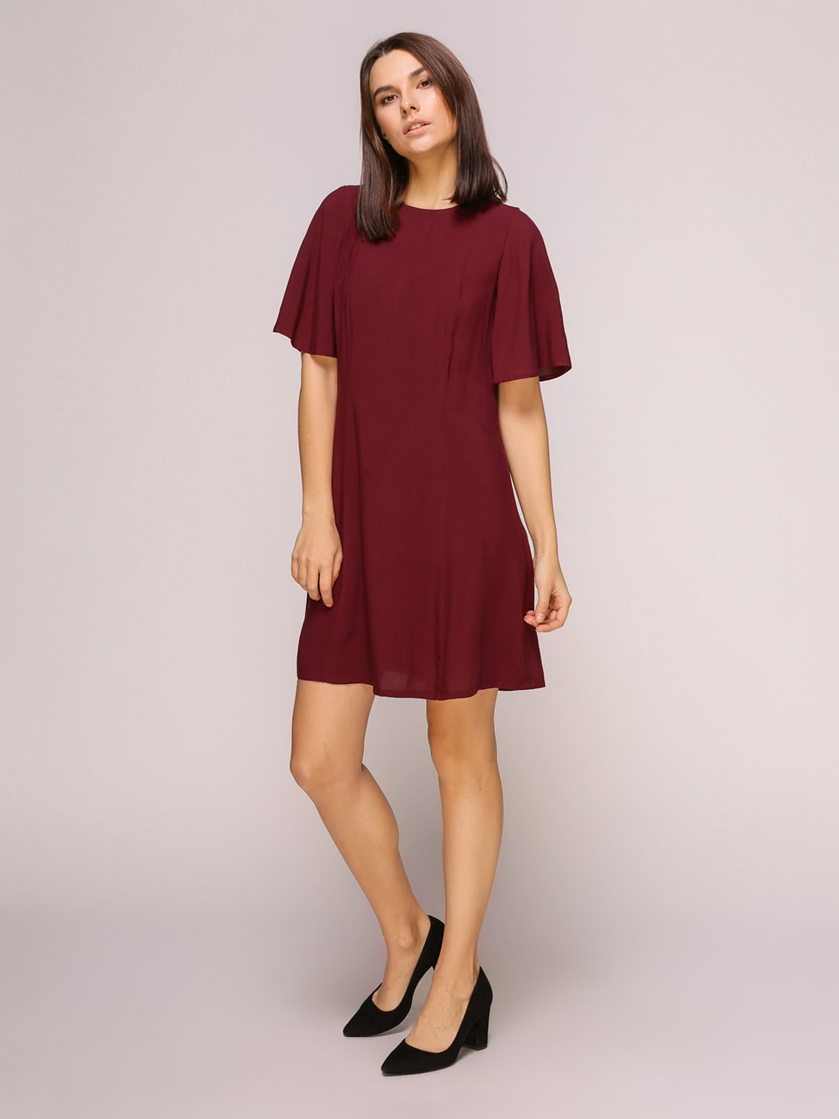 Платье бордовое | 4915529 | фото 3