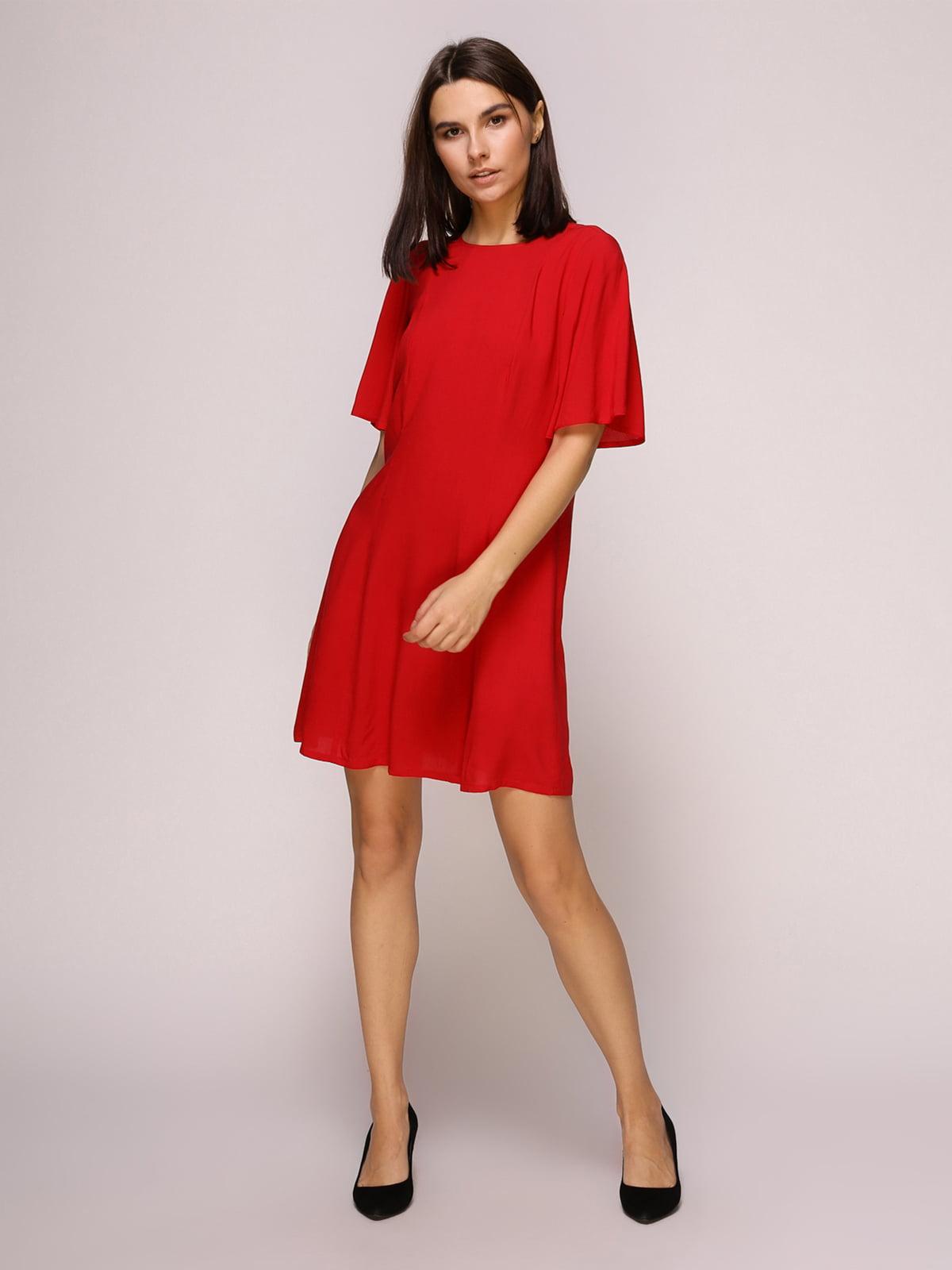 Платье красное | 4915530