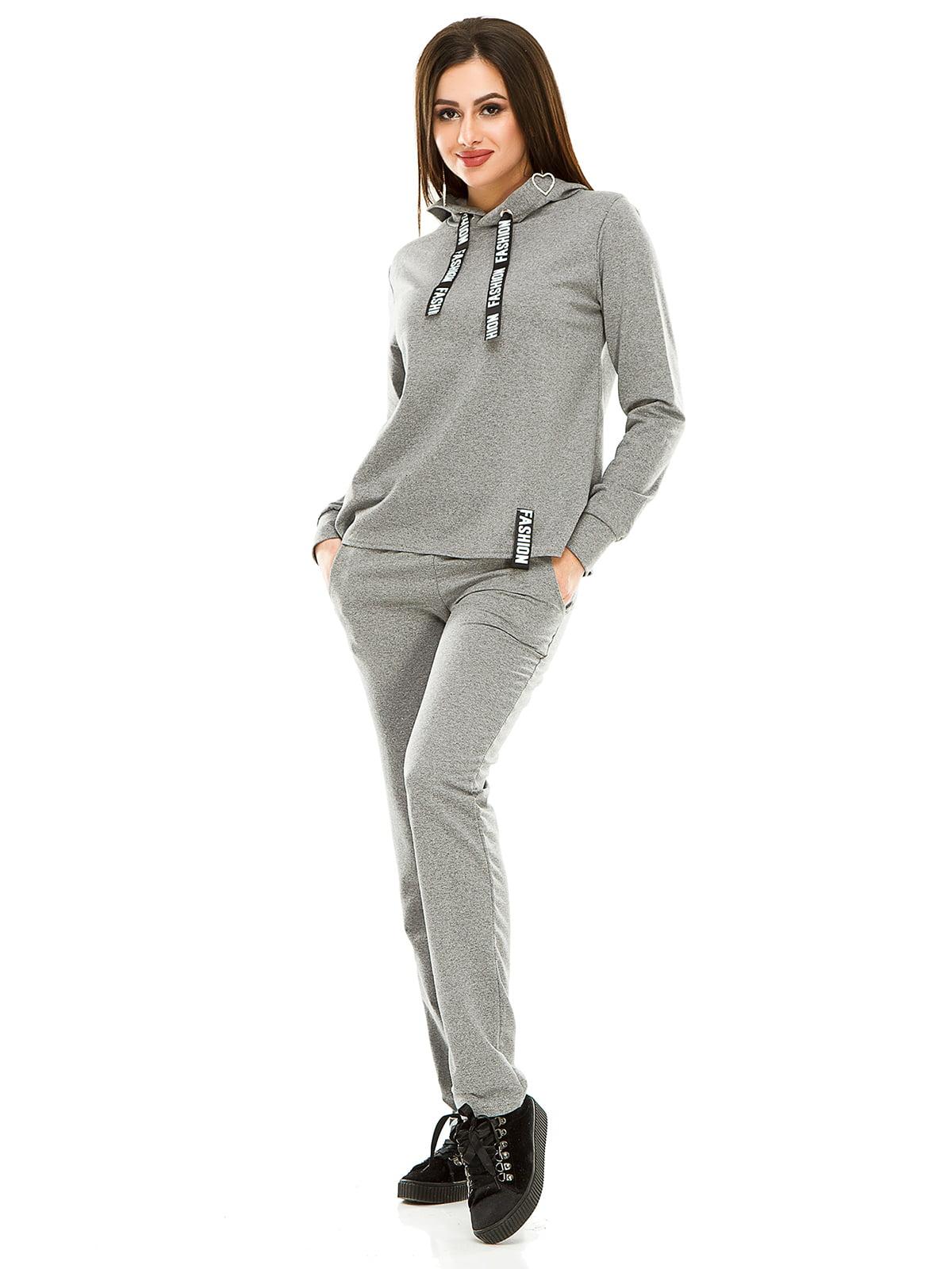 Костюм спортивный: худи и брюки   4890739