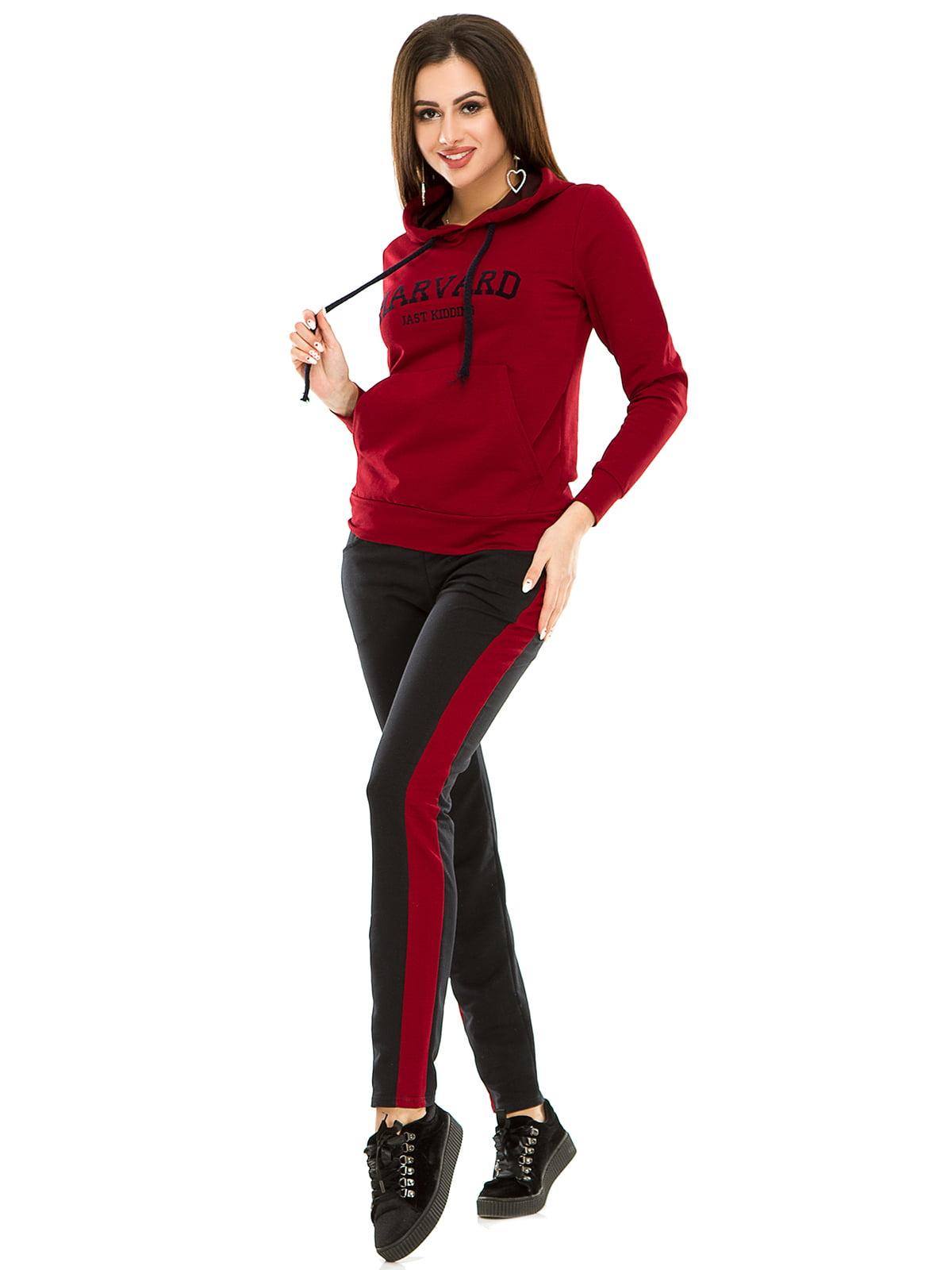 Костюм спортивный: худи и брюки | 4917419