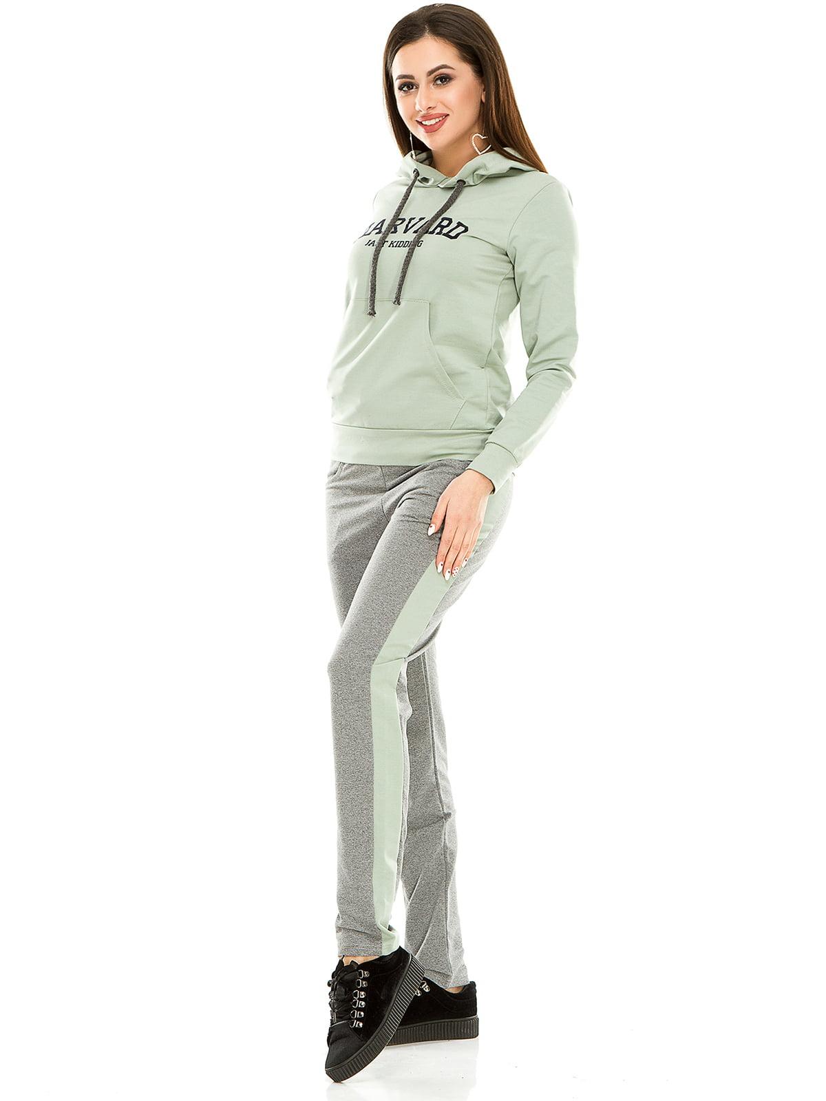 Костюм спортивный: худи и брюки | 4917420