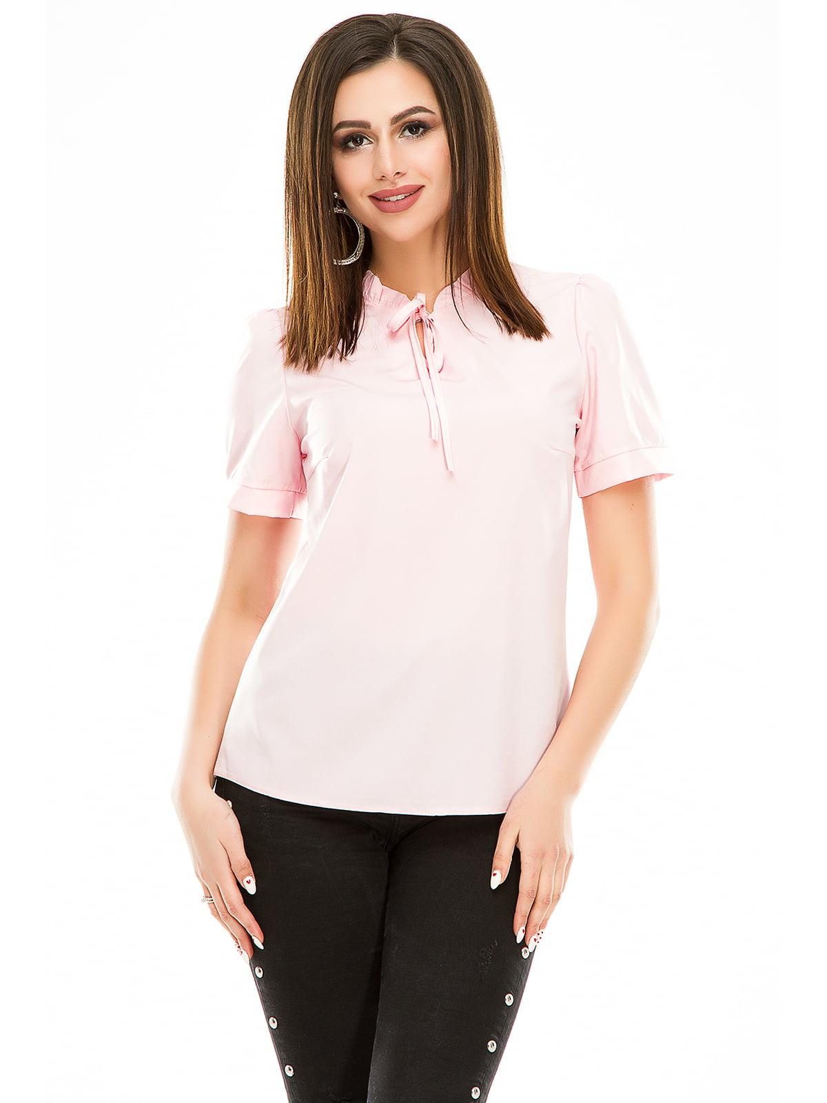 Блуза розовая   4917452