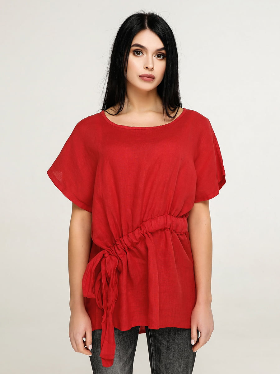 Блуза червона | 4917553