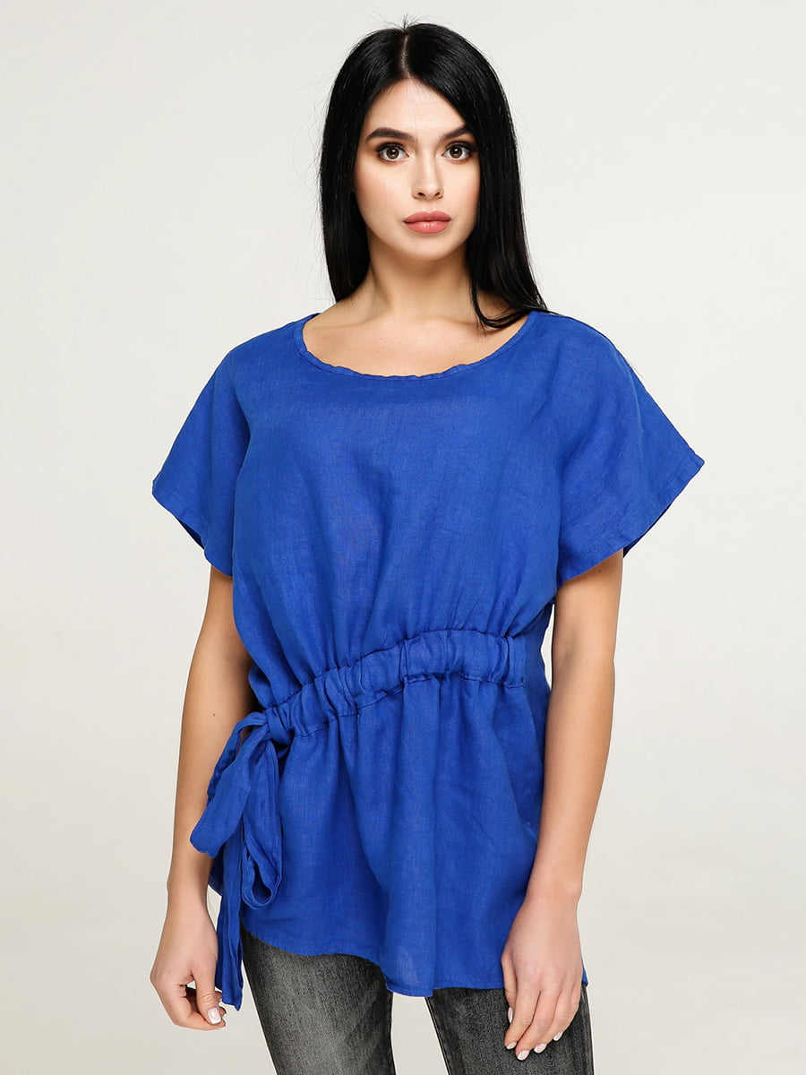 Блуза цвета электрик   4917565