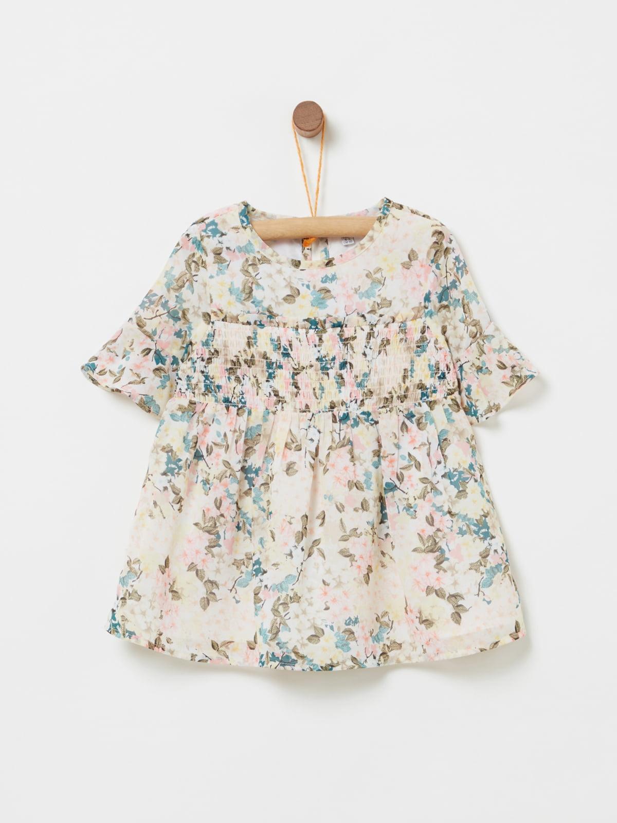 Блуза в цветочный принт | 4902822