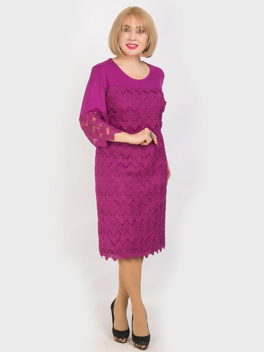 Сукня кольору фуксії   4914325
