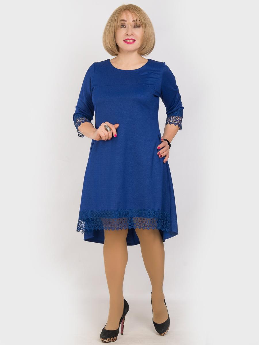 Сукня кольору електрик | 4914350