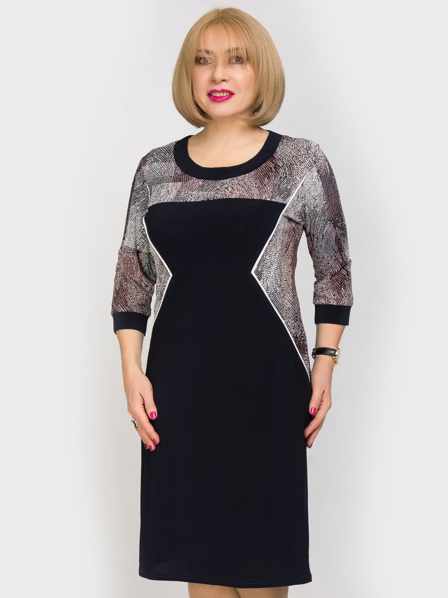 Платье с принтом | 4917764
