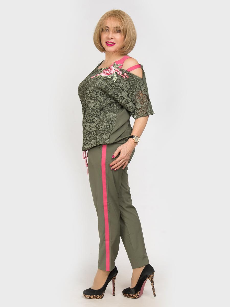 Костюм: блуза и брюки | 4917781