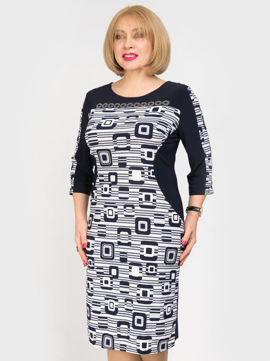 Платье с принтом | 4917819