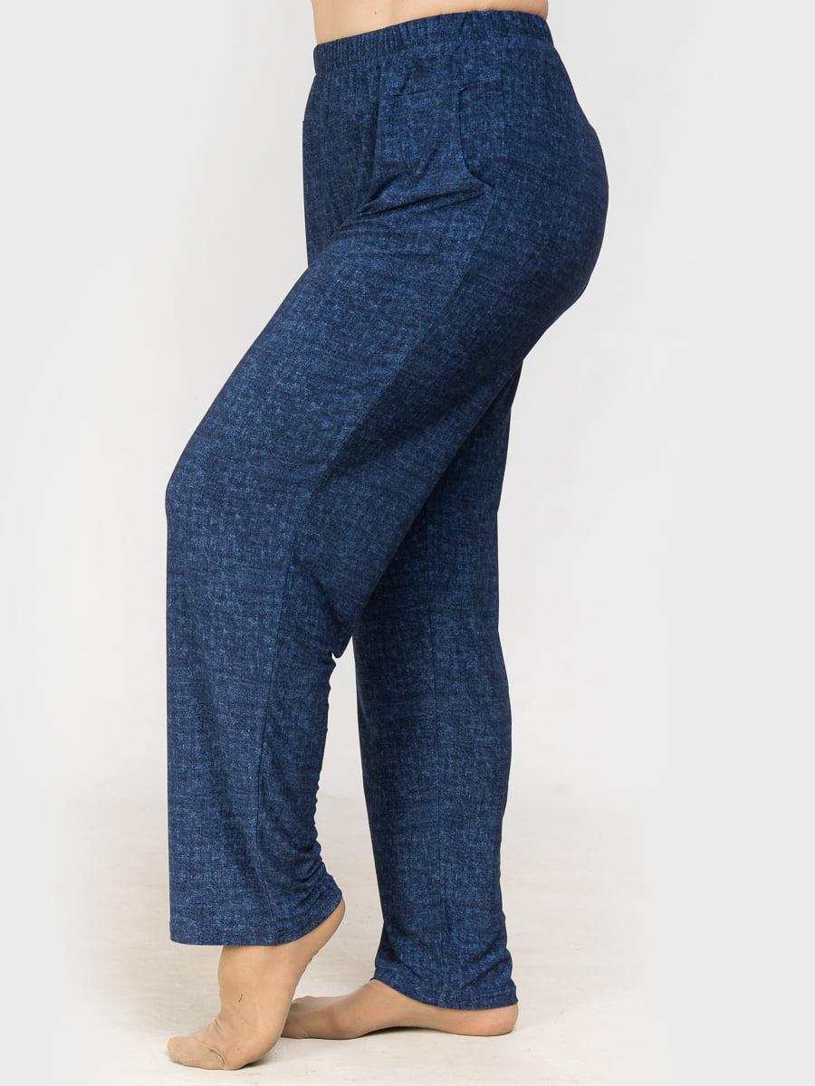 Брюки джинсового цвета | 4917832