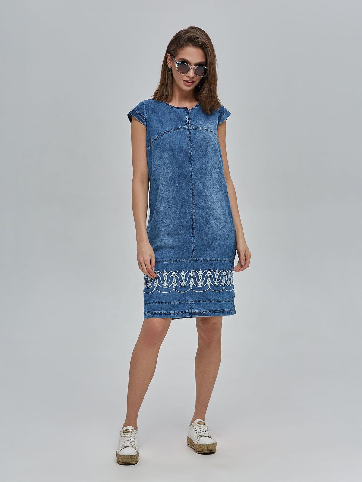 Сукня синя джинсова | 4917991 | фото 2