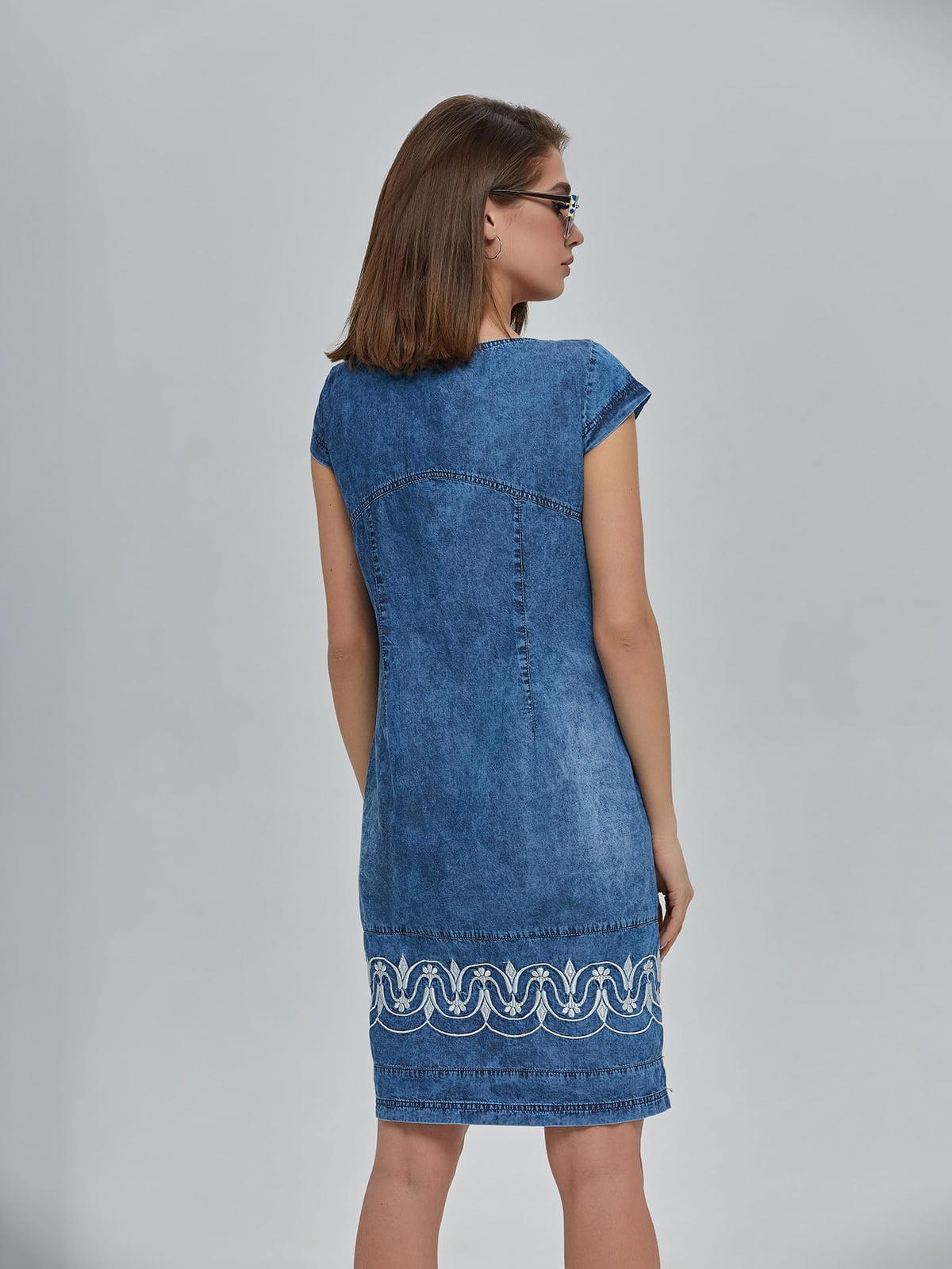 Сукня синя джинсова | 4917991 | фото 3