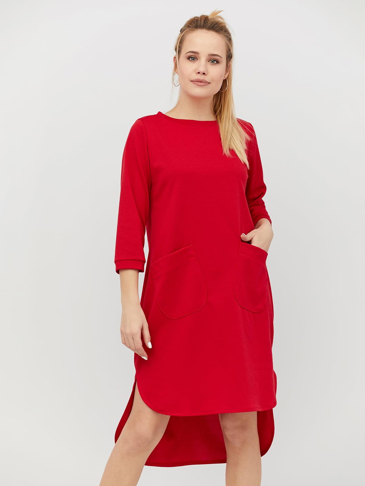 Платье красное | 4918236
