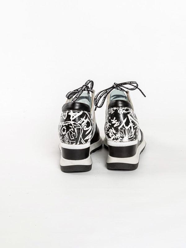 Кроссовки черно-белые | 4918562 | фото 3